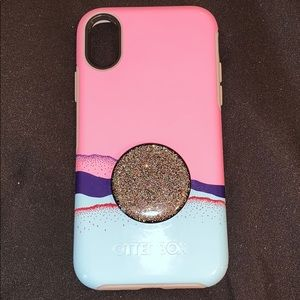 Otter box Case with pop socket